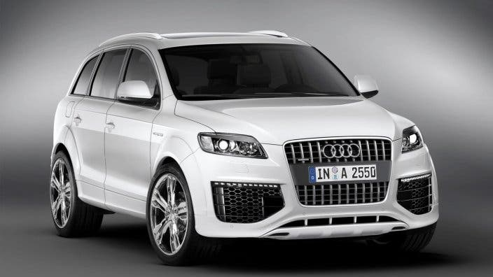 The Q7 model is Audi's highest-selling vehicle in the Middle East (Courtesy of Audi)