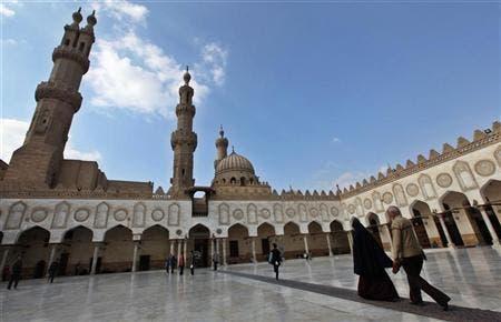 Al Azhar mosque.