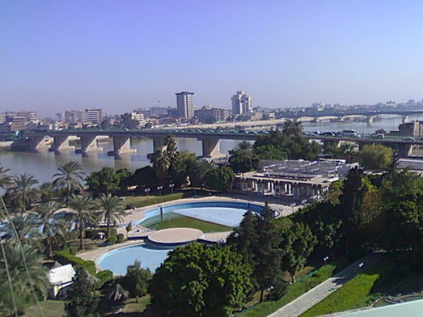 Baghdad, whose name signifies 'God's Gift', once an oasis of learning and enterprise, and always a beautiful city scape as shown pre-destruction of the 'invasions'.