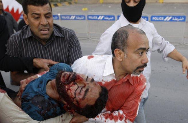Bahrain's crackdown on its protestors