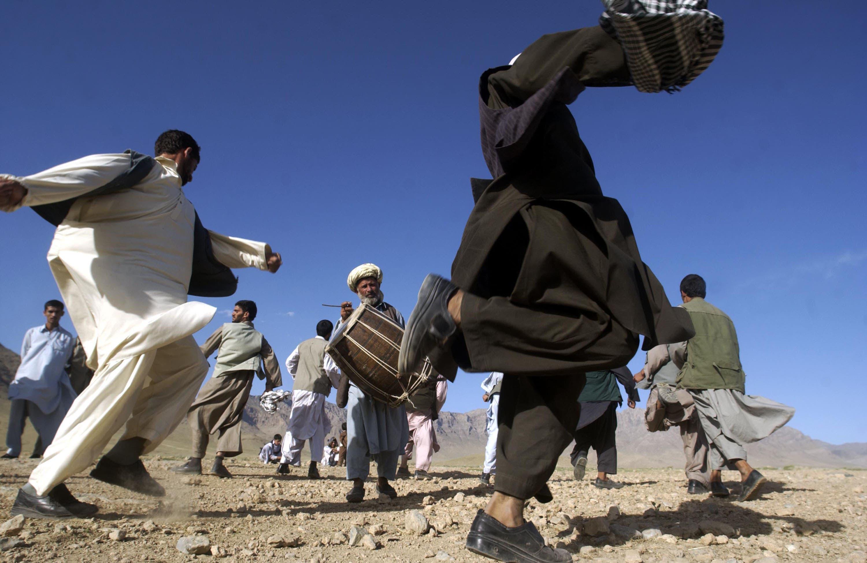 A bedouin wedding in Jordan.