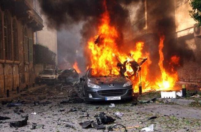 Car bomb in Sassine Square, east  Beirut