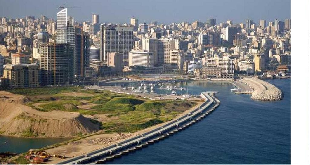 Beirut ranked 20th in the world's best cities in this year's Condé Nast Traveler's Readers' Choice Awards (Courtesy of Skyscraperlife.com)