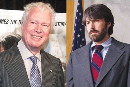 The Canadian former ambassador to Iran who protected Americans at great personal risk during the 1979 Iran hostage crisis says it will reflect poorly on Ben Affleck if he doesn't nod to Canada's role