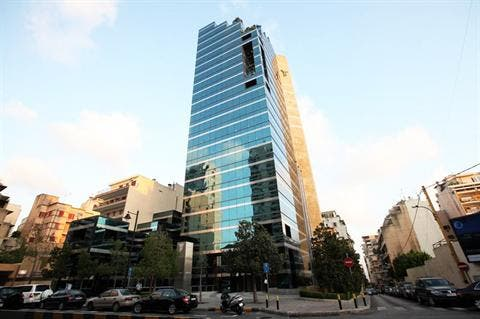 Byblos Bank, one of Lebanon's main banks, along with others spend between $500,000 and $1 million on security annually (File Archive)