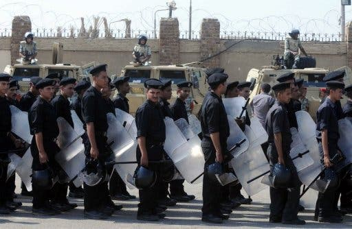 Egyptian police are starting a trade union to improve their working conditions