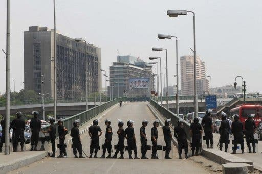 The number of public sector workers in Egypt dropped in the last fiscal year, with 1 million employed in security alone.