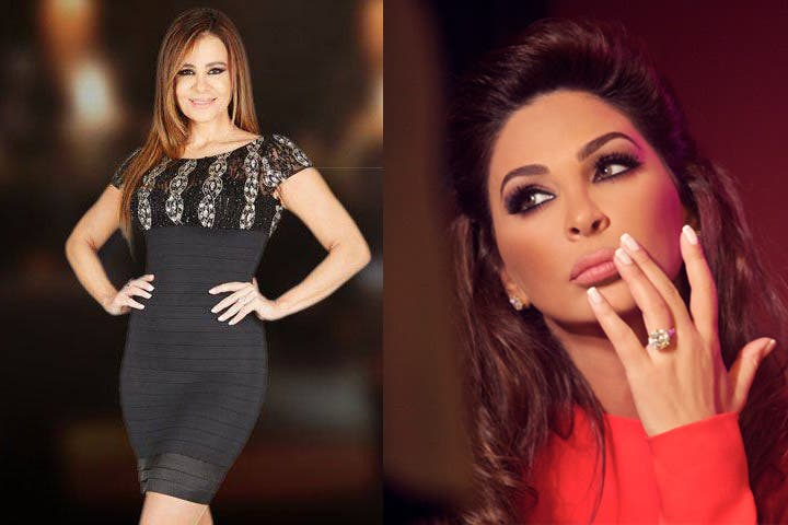 """Elissa had recently posted a photo of her with """"Lady"""" on Twitter during Christmas. (Image: Albawaba edit)"""