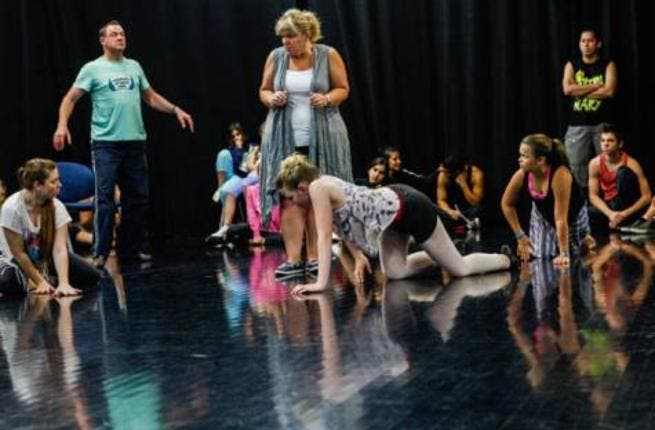 CATS during the rehearsals at DUCTAC, Mall of the Emirates, Dubai.
