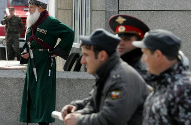 The Chechen link to Syria rears its Muslim beard