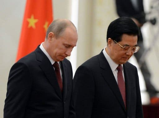 Chinese Russian leaders