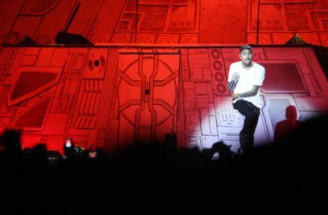 Chris Brown didn't disappoint Dubai fans on Tuesday