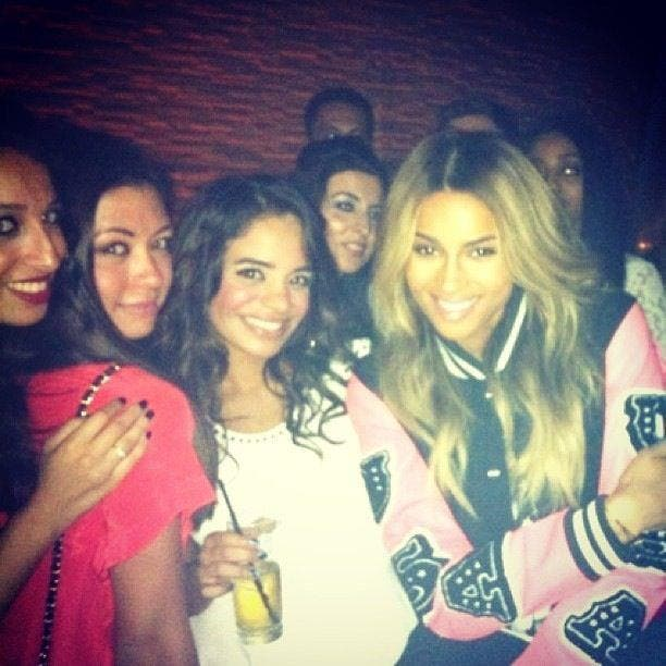Ciara hanging with her fans in Dubai (Photo: Facebook)