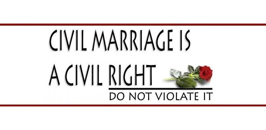 Activists have long campaigned online for civil marriage rights. (Photo courtesy of Facebook)