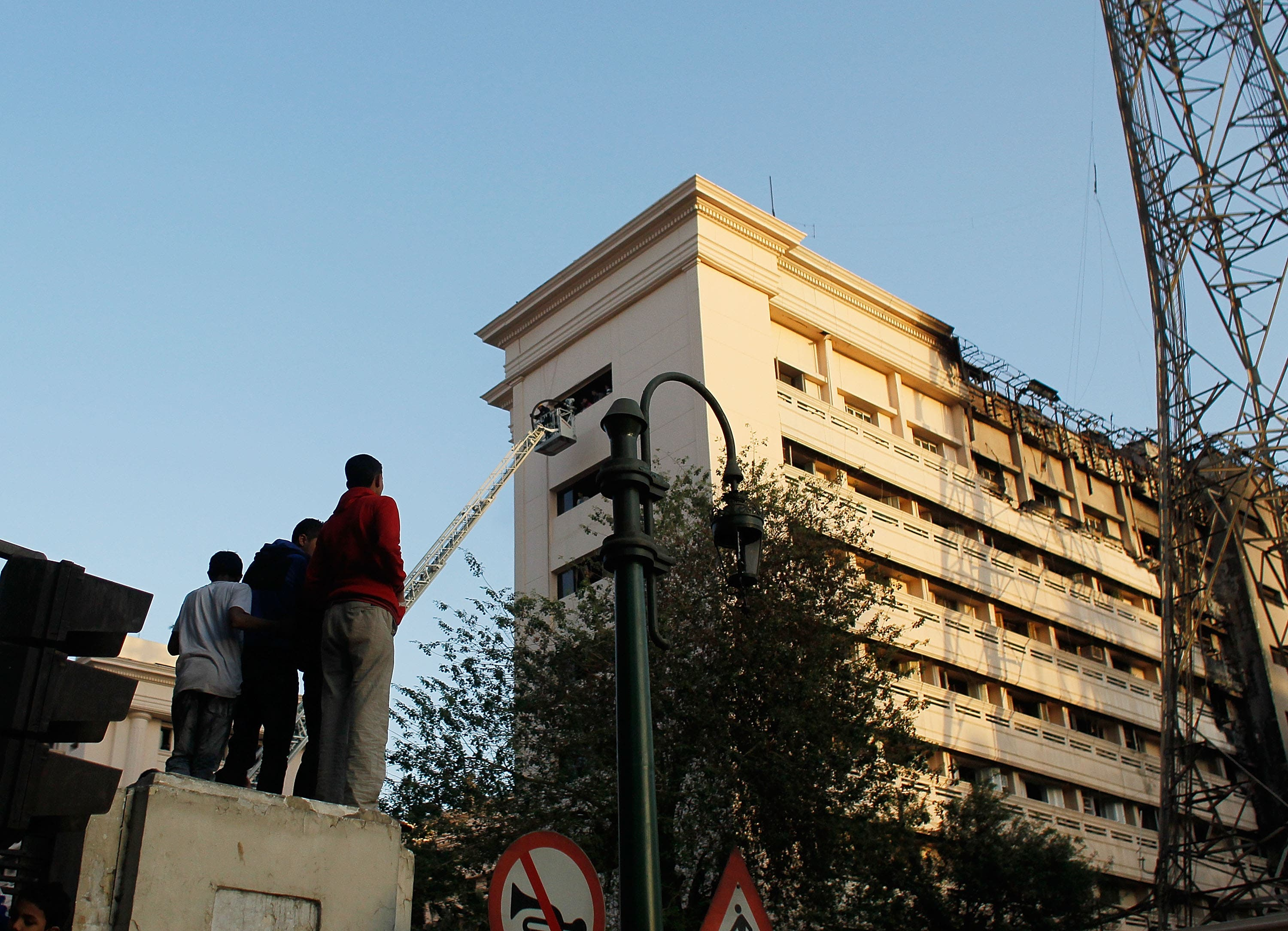 The Egyptian Ministry of Interior has long been the focus of protesters' demands.