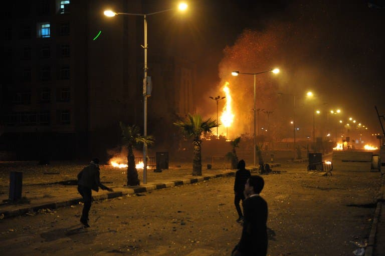Clashes have been ongoing in Port Said.
