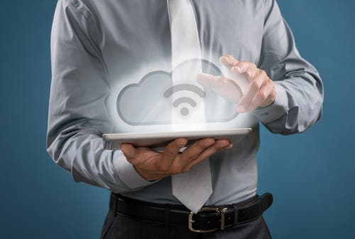 Middle East enterprises without cloud infrastructures may be at a disadvantage globally (Shutterstock)