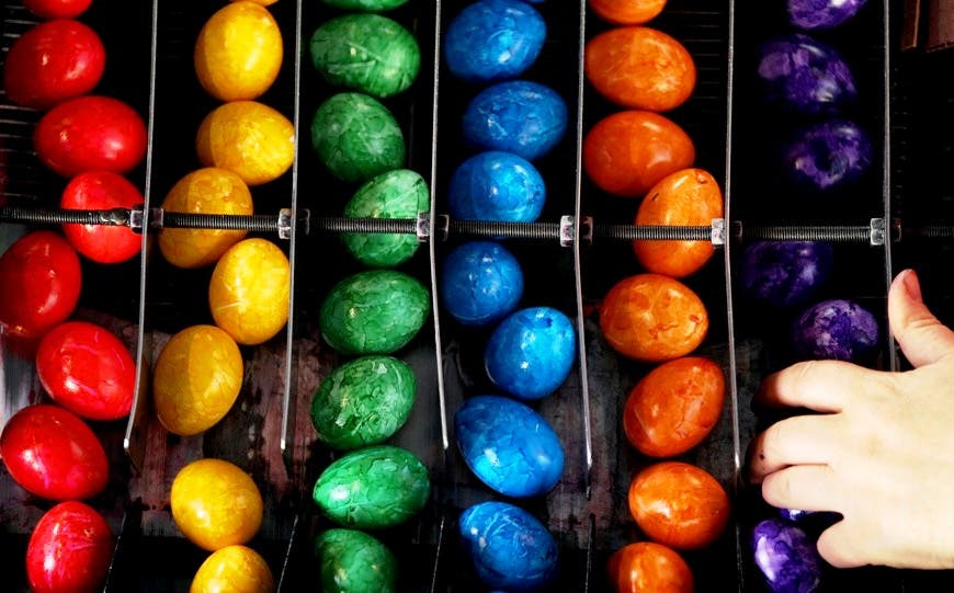 Easter is a time to eat chocolate and have sex, in the Holy Land to the West, says a Priest.