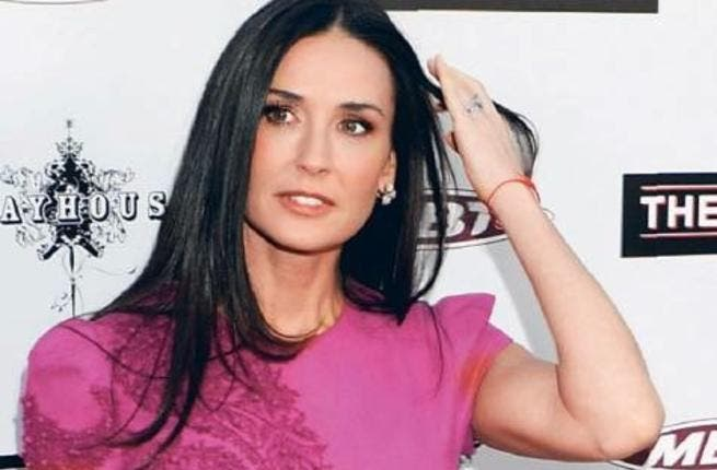 Demi Moore is rumored to have spent her 50th birthday in Dubai (Photo: Rex Features)