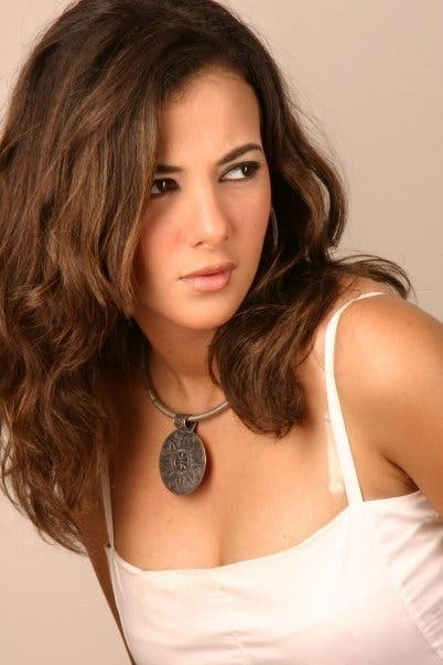 Donia Samir Ghanem is still hard at work after her recent car crash