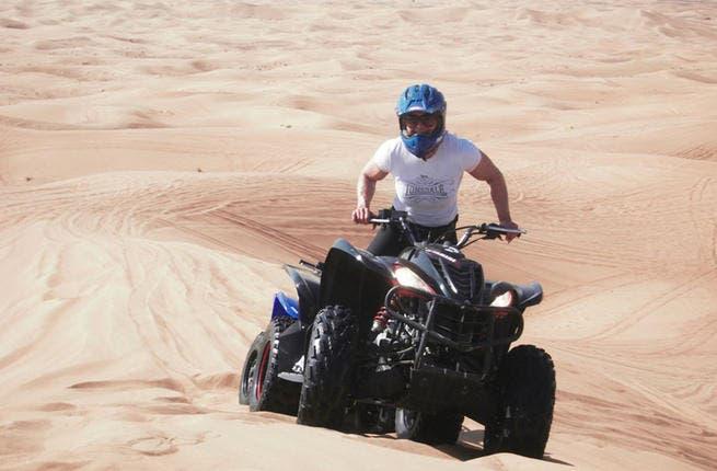Quad bike in the Dubai