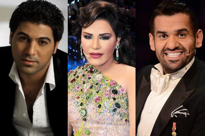 Get it Walid Al Shami, Ahlam, and Hussein Al Jassmi! They'll be Eid'n it up in Dubai this weekend!
