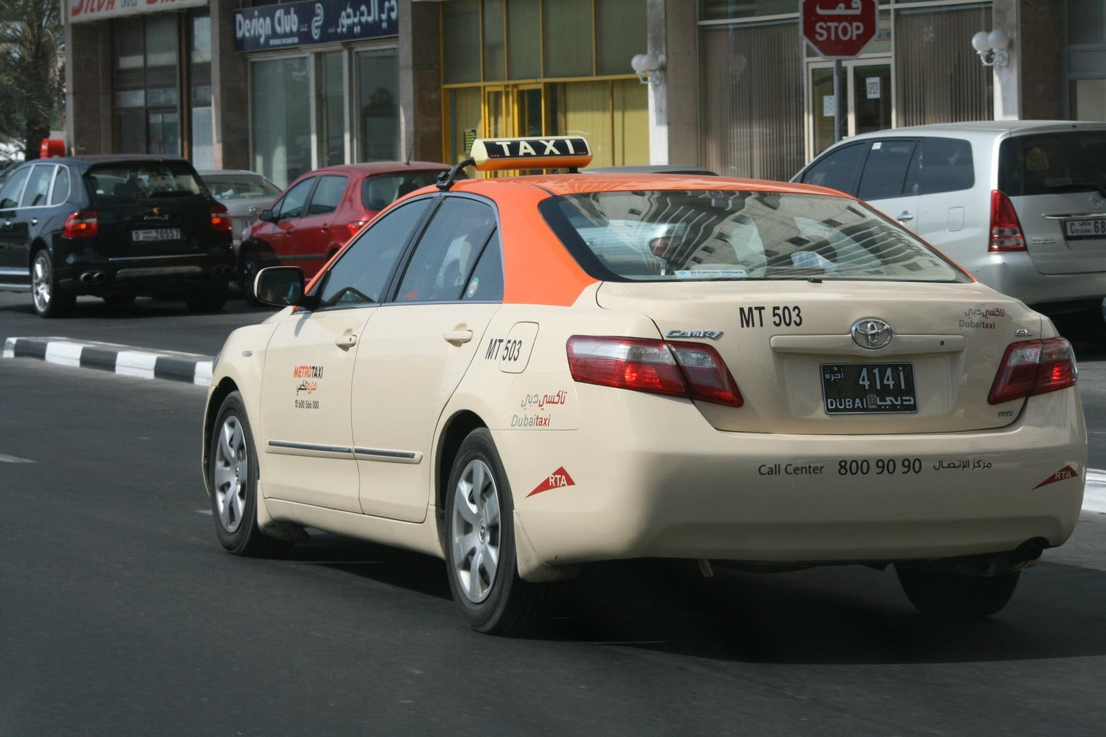 Where the expat magic could have happened: a Dubai taxi