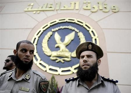 Splitting hairs: legislation unclear about Egyptian bearded policemen but could still face disciplinary board.