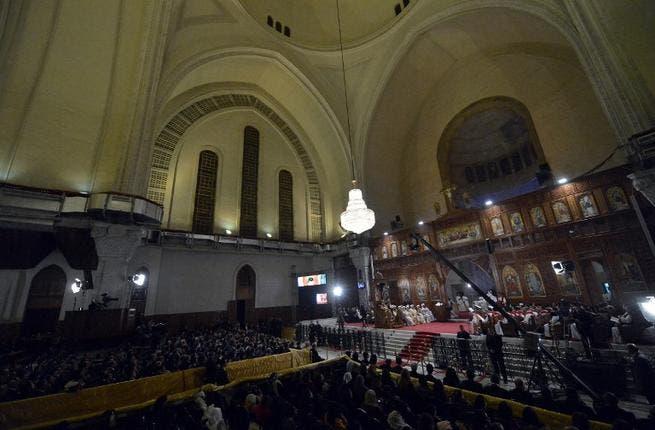 Coptic Christians celebrate their Christmas