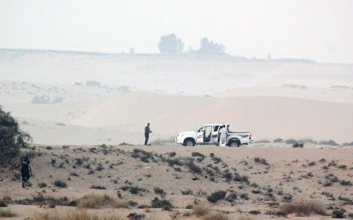 The Egyptian army have launched a massive campaign against Sinai militants. (AFP/File)