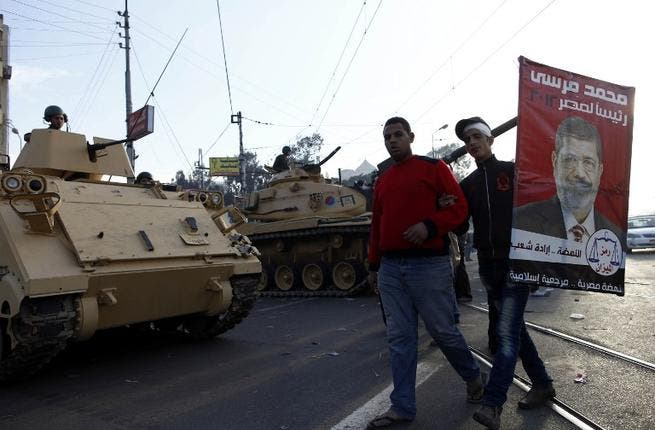 Tanks in Egypt