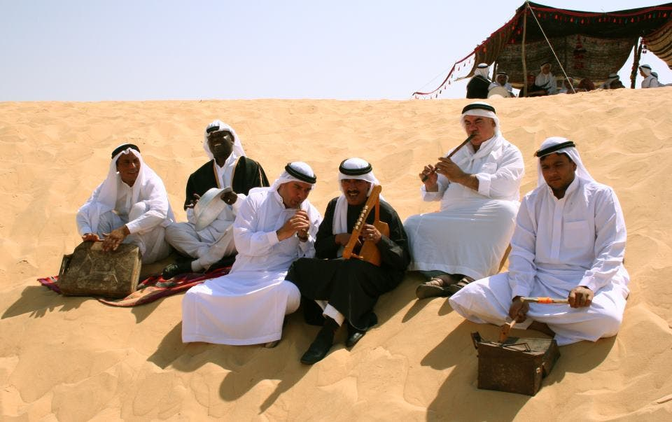 Bedouin Jerry-can Band (Photo: El Mastaba Facebook page)