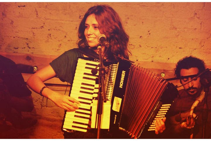 Yousra El-Hawary is bringing her accordion talents to the stage at Darb 1718 tonight