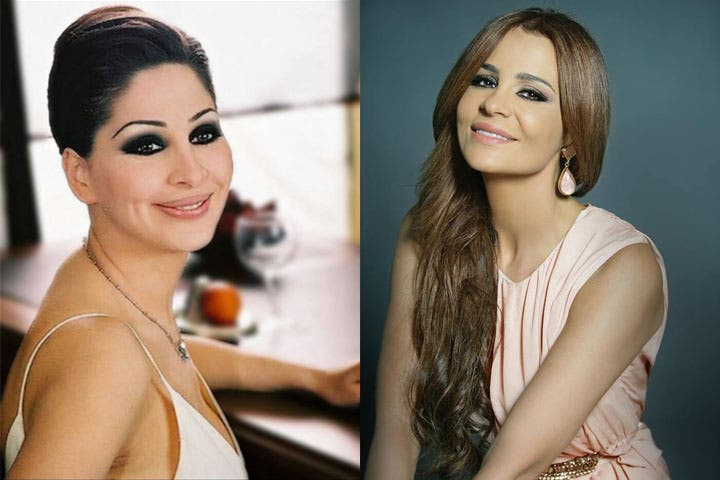 Elissa and Carole Samaha are all smiles here, but what it's like off camera?