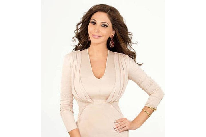 All smiles: Elissa releases teaser for her new music video. (Image: Facebook)