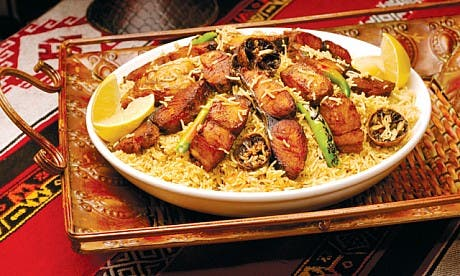 Emirati food. Photo source: Time Out.