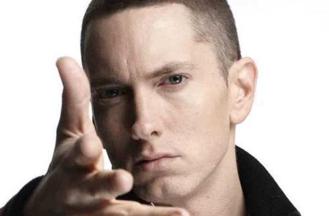 Eminem makes his way to the Middle East for a Grand Prix performance