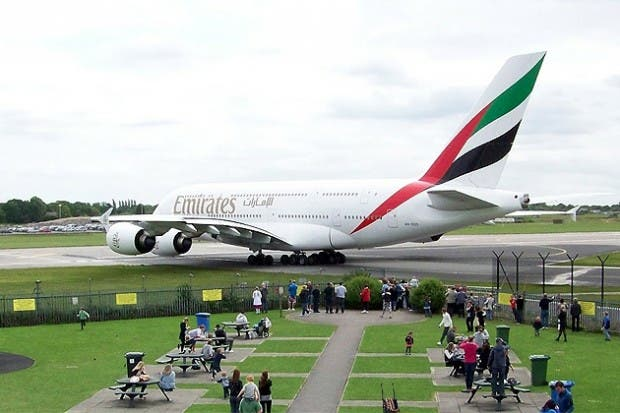 The 489-seat Emirates A380 offers 14 Private First Class Suites, 76 lie-flat beds in Business Class and 399 spacious seats in Economy Class