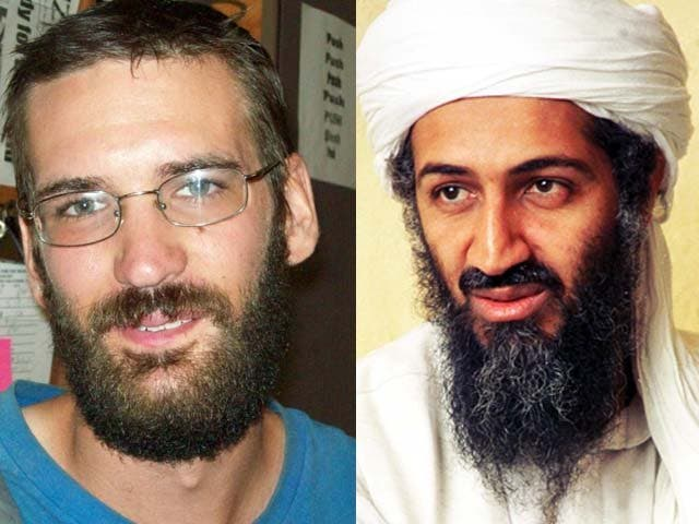 Eric Justin Toth, the child pornographer is equally bearded and just as dangerous, replaces Osama bin Laden as the FBI's most wanted man.