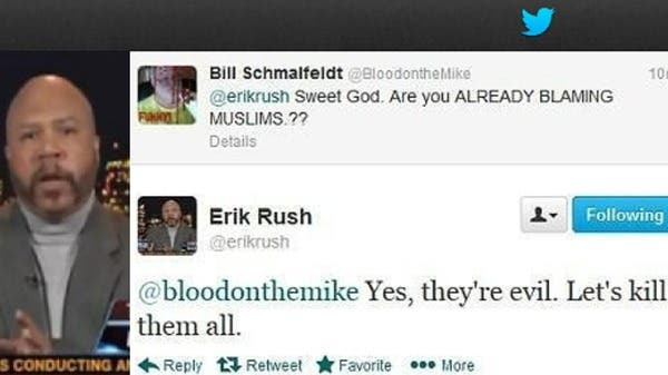 Erik Rush, a regular on Fox News, called for all Muslims to be killed in a