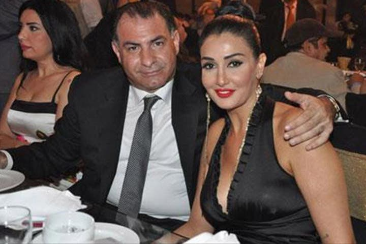 Ghada Abdel Razek with her new hubby Mohammad Fouda. (Image: AmmanNet)