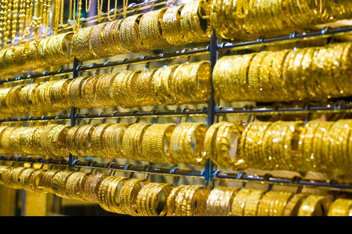 The yellow metal is back in fashion among Emirati shoppers. (Image credit: Wikimedia)