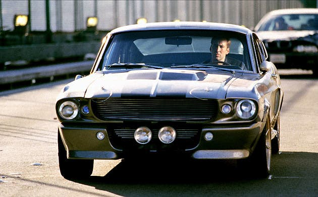 The stunning silver, 1967 Ford Mustang - driven in the movie by Nicolas Cage and powered by a 650bhp turbo engine - is for sale on UAE website Dubizzle.