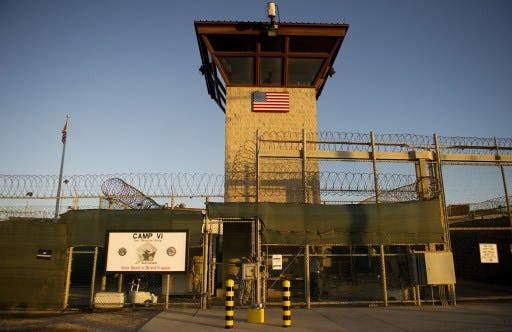 A US military spokesman said the number of prisoners on hunger strike at Guantanamo Bay has been raised to 92 based on evaluations by medical personnel at the American base in Cuba. (Photo: AFP)