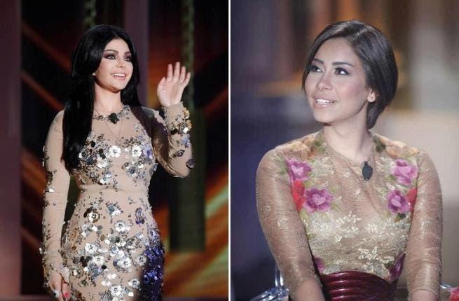 Haifa and Sherine face-off