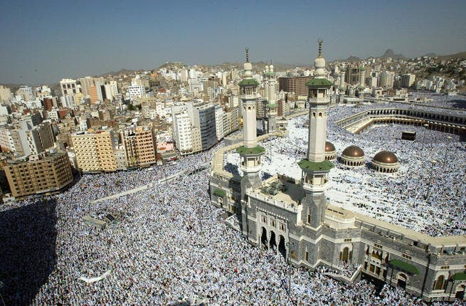 Saudi authorities are struggling to combat an influx of unlicensed pilgrims sneaking into Mecca.