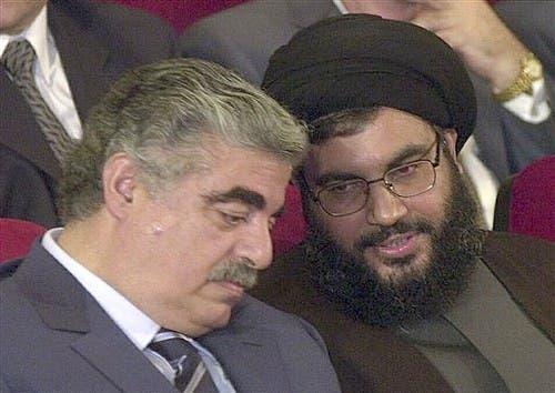 Ex-Premier Hariri and Nasrallah