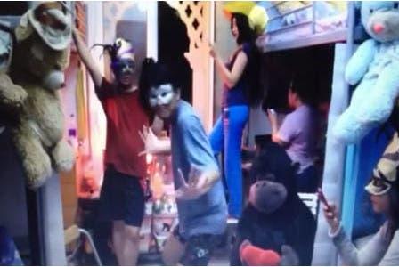 Noora's winning Harlem Shake video.