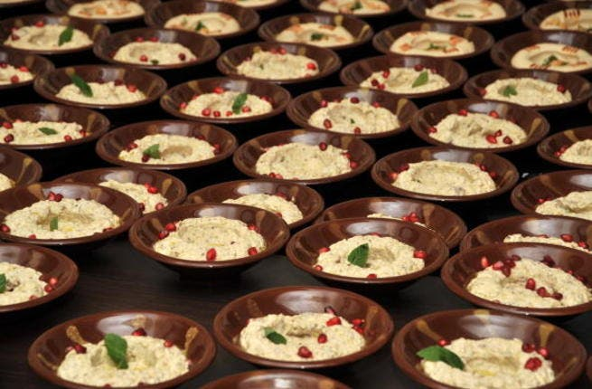 All the hummus you can eat!