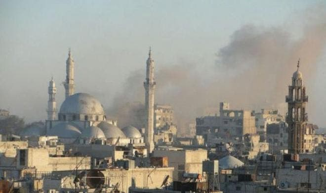 Fatal regime-led air raids have also been previously launched in Homs (Courtesy of Your Middle East)